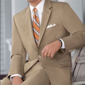 Tan Two Piece Suit
